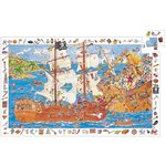 Observatie puzzel piraten Djeco