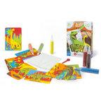 Zandkaarten Mini kit Dino's / Sabbiarelli 1