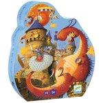 Puzzel Djeco Ridders en draken
