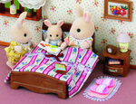 5019 Semi-Double Bed twijfelaar bed Sylvanian families