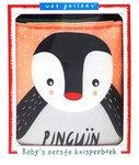 Stoffen knisperboek pinguïn Wee Gallery