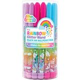 Balpen regenboog glitter / Ooly 2