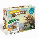 DINO & CO kwartetspel met posterboek / Rebo_