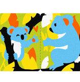 Zandkaarten Midi kit Babydieren / Sabbiarelli 5