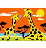 Zandkaarten Midi kit Babydieren / Sabbiarelli 6