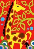 Zandkaarten Jungle dieren / Sabbiarelli 3
