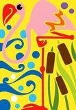 Zandkaarten Jungle dieren / Sabbiarelli 4