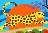 Zandkaarten Jungle dieren / Sabbiarelli 5