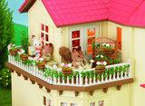 Poppenhuis Verlicht Herenhuis / Sylvanian Families _