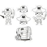Krimpfolie met motieven Piraten / Shrink Me_