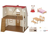 Poppenhuis Startershuis Red Roof Cosy Cottage / Sylvanian Families _