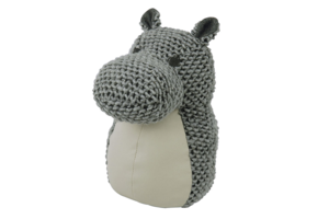 Deurstopper/boekensteun Nijlpaard  / The ZOO
