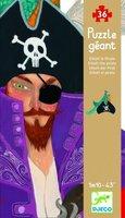 Grote vloerpuzzel Elliott de Piraat / Djeco