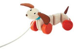 Trekdier Happy Puppy / PlanToys