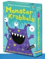 Activiteitenkaarten: Monsterkrabbels / Usborne