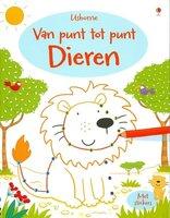 Activiteitenboek Van punt tot punt Dieren / Usborne