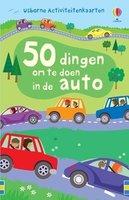 Activiteitenkaarten: 50 dingen om te doen in de auto / Usborne