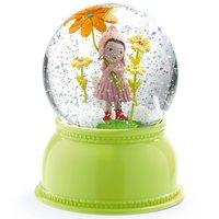 Nachtlamp en sneeuwbol Meisje met bloem / Djeco