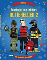 Aankleden met stickers Actiehelden 2 / Usborne