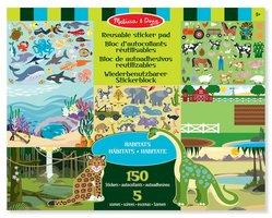 Herbruikbaar stickervel dieren / Melissa & Doug