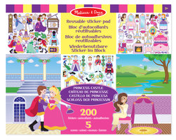 Herbruikbaar stickervel prinses / Melissa & Doug