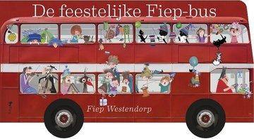 Feestelijke Fiep-bus (kartonboek) / Fiep Westendorp