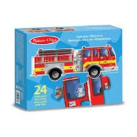 Vloerpuzzel brandweerauto. 3+ / Melissa & Doug