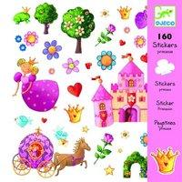 160 stickers prinsessen / Djeco