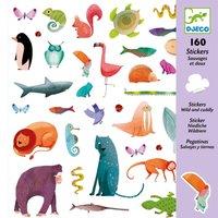 160 stickers wild en lief / Djeco