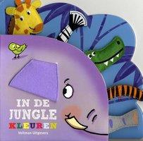 In de jungle: kleuren (kartonboek) / Veltman Uitgevers