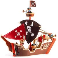 Arty Toys - Houten piratenboot / Djeco