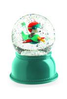 Nachtlamp en sneeuwbol Vliegtuig / Djeco