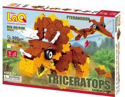 Dinosaur World Triceratops and Pteranodon / LaQ