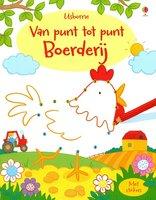Activiteitenboek Van punt tot punt Boerderij / Usborne