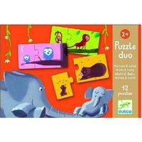 Duo puzzel Mama en Baby / Djeco