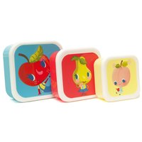 Lunchboxen set Fruitties / Petit Monkey