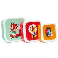 Lunchboxen set Dieren / Petit Monkey
