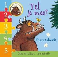Gruffalo puzzelboek: Tel je mee (kartonboek) 1+ / Lemniscaat