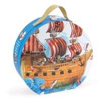 Puzzelkoffer - piratenschip / Janod