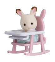 Baby Draagdoosje: konijn in kinderstoel / Sylvanian Families