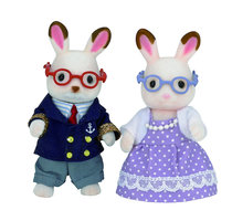 Grootouders Chocolate Rabbit / Sylvanian Families