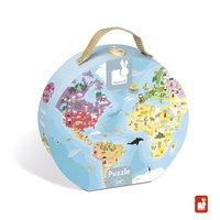 Puzzelkoffer - aarde / Janod