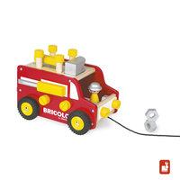 Bricolo - redmaster trekfiguur vrachtwagen / Janod