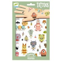 Tattoos Monsters / Djeco