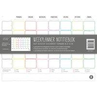 Papieren weekplanner / Kletsboeken