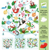 510 Stickers Lente / Djeco