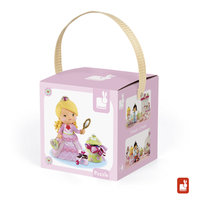 Lovely puzzel - Rose speelt prinses (2 in 1) / Janod