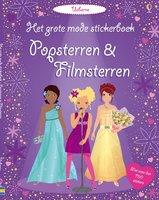 Het grote mode stickerboek: Popsterren & Filmsterren. 4+ / Usborne