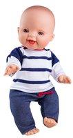 Baby jongenspop blank lachend Gekleed / Paola Reina