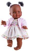Baby meisjespop Afrikaans Amparo Gekleed / Paola Reina